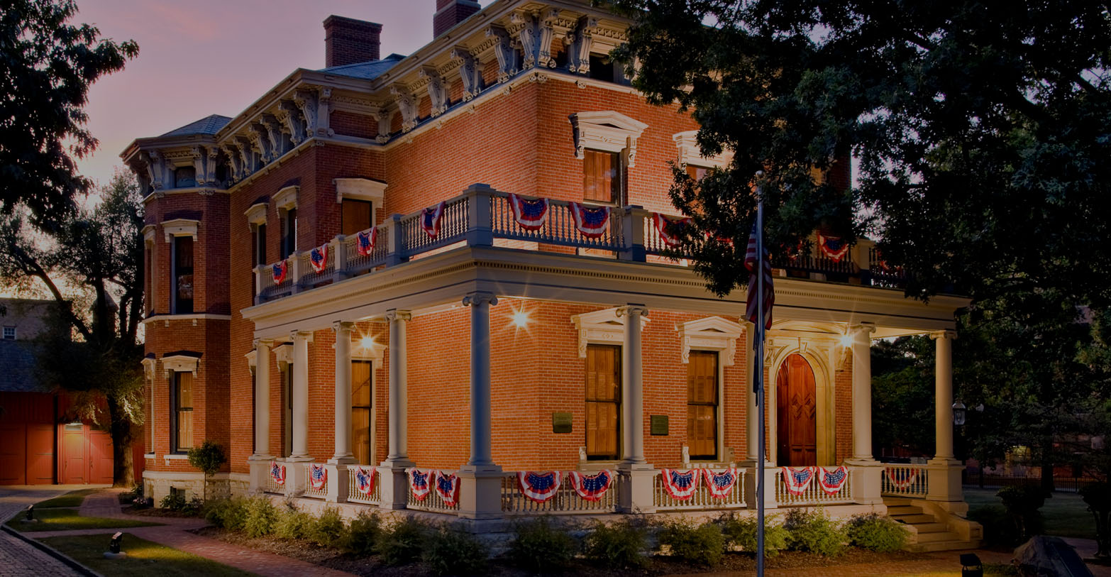 benjamin harrison presidential site visit the home of the 23rd