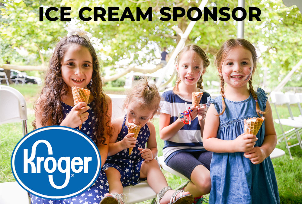 Graphic image of ice cream sponsor logo.