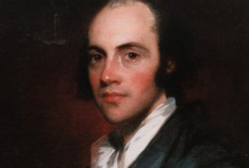 Painting of Aaron Burr
