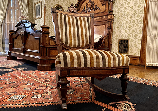 bedroom rocking chair