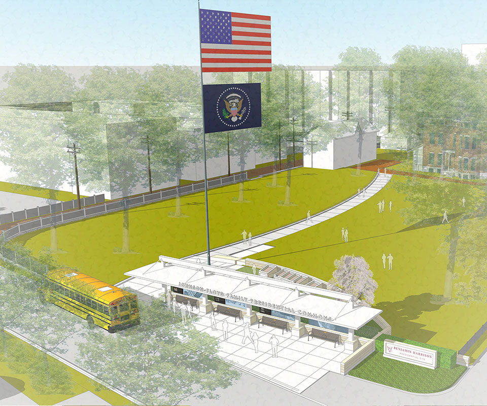 Overall rendering of proposed gateway