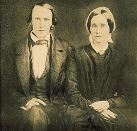 John and Elizabeth Harrison photo