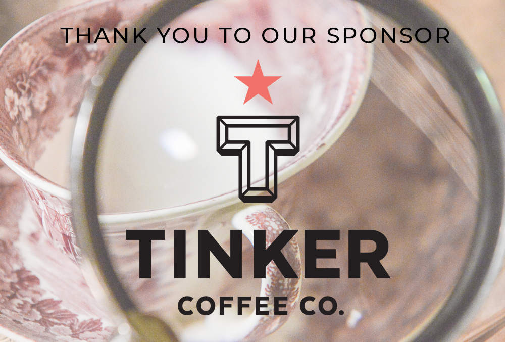 Graphic image of the Tinker Coffee Co. logo