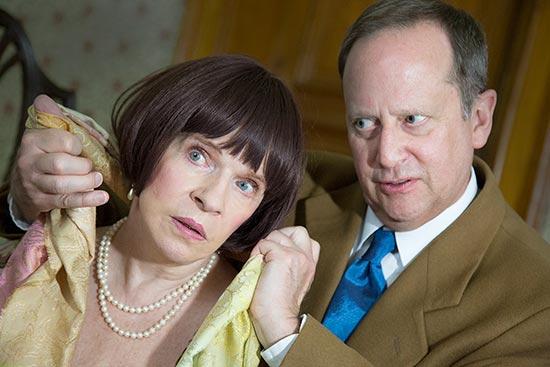 Actors from 'Murder in Triplicate'