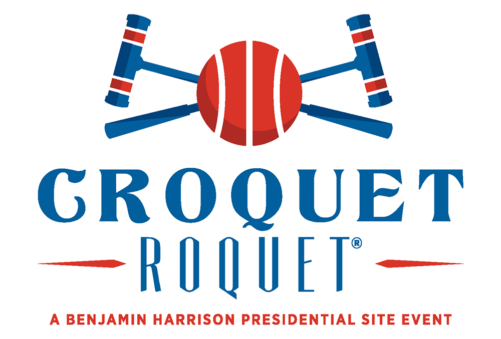 Graphic image of the Croquet Roquet logo.