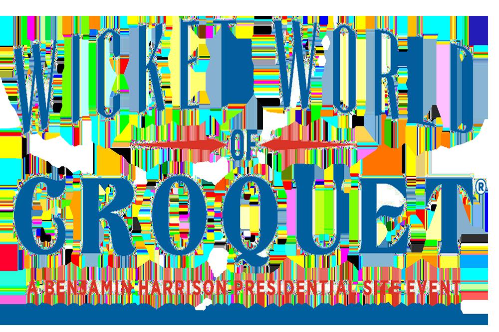 wicket world of croquet word mark logo.