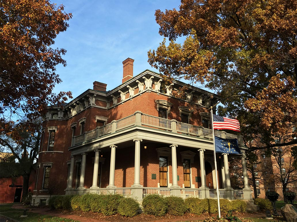 The House - Benjamin Harrison  Benjamin Harrison House
